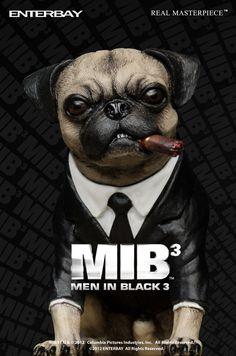 iPhone 6 case - Men in Black 3 pug Men In Black, French Bulldog Puppies, Pug Puppies, Frank The Pug, Shih Tzu Hund, Amor Pug, Pug Art, Pug Love, Dog Owners
