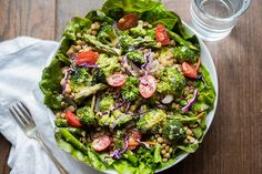 Toasted Mustard, Broccoli & Lentil Salad Recipe « Kimberly Snyder