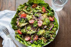 Toasted Mustard, Broccoli & Lentil Salad Recipe « Kimberly Snyder