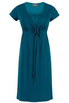 Milk Nursingwear Everyday Breastfeeding Dress, Teal - Izzy's Mum Breastfeeding Clothing