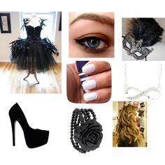JezaBella's Masquerade Ball Dress by katleslie on Polyvore featuring polyvore, fashion, style, Masquerade, MANGO and clothing