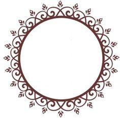 New Mehndi Designs, Rangoli Designs, Stencil Designs, Paint Designs, Lotus Rangoli, Glass Painting Designs, Printable Frames, Bakery Logo Design, Mehndi Images