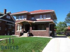Outstanding Historic Prairie Style home with character from top to bottom. Five bedrooms, 2 baths, beautiful hardwood floors, red tile roof, original 2 stall garage with tile roof (new doors), updated wiring, newer central air, built-ins in the living and dining, French doors, lead glass, beautiful crown molding, plus much more. This home has most all of its original features and they are in great condition. Plus open front porch with tile floor. AHS home warranty and appliances included.