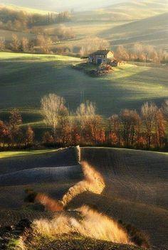 meraviglie italiane colline senesi Toscana  Italy