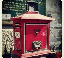 Old school mailbox in #Budapest #Hungary #Mailbox