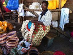 Taken at a Masai market in Nairobi, Kenya.