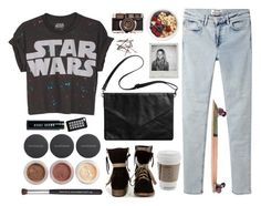 """Star Wars"" by rainaouz ❤ liked on Polyvore featuring Bare Escentuals, Monki, Acne Studios, Bobbi Brown Cosmetics, Jagger Edge and MTNG"