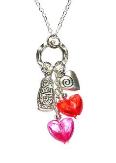 From Russia with love - cute little babouska necklace - perfect for mothers day