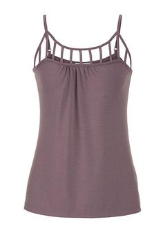 tank with lattice neckline (original price, $26) available at #Maurices