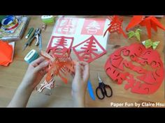 New Year's Crafts, Decor Crafts, Diy Crafts, Chinese New Year Decorations, New Years Decorations, Chinese Paper Cutting, Chinese New Year Crafts, Chinese Festival, Red Packet