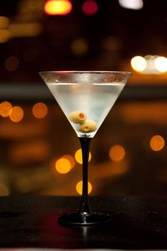 Grey Goose Dirty Martini. Extra cold, extra dirty. Thank you.
