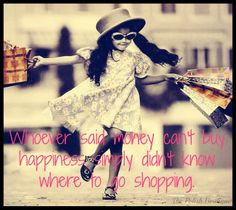 Shopping is the best stress buster for girls