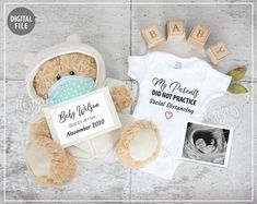 Baby Surprise Announcement, Thanksgiving Pregnancy Announcement, Rainbow Baby Announcement, Creative Baby Announcements, Pregnancy Announcements, Baby Due Date Calendar, Surprise Baby, New Baby Products, Gender Reveal