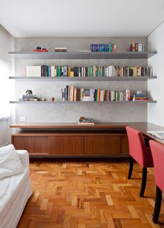 Tria Arquitetura Transforms a 1970s Apartment in São Paulo, Brazil - Design Milk