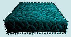Teal Bedspread, Teal Comforter, Velvet Bedding Sets, Velvet Bedspread, Velvet Quilt, Green Quilt, Twin Quilt, Bed Throws, Bed Sizes