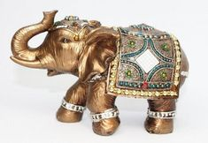 Feng Shui Brass Color 6 Elegant Elephant Trunk Statue Wealth Lucky Figurine Home Decor Gift US Seller 14832 ** You can find more details by visiting the image link. Elephant Home Decor, Elephant Trunk, Elephant Art, Elephant Gifts, Thai Elephant, White Elephant, Feng Shui, Elephant Parade, Elephant Figurines