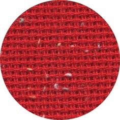 Heatherfield - 10ct - Christmas Red (w/ flecks) - I found this while browsing JuliesXstitch.com