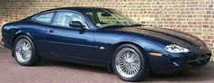 Jaguar XK8 with Wire Wheels .... as it should be ....