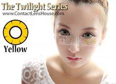 The Twilight Series - Yellow color cosplay contact lens. | Shop @ ContactLensHouse.com