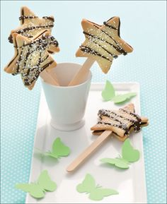 fairy wands (cookies) from Ready, Steady, Spaghetti: Cooking for Kids and With Kids #recipe