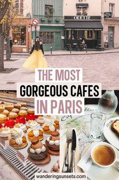 20 Cute Cafes in Paris - The Spots You Shouldn't Miss