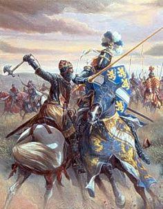 1314 - Batalla de Bannockburn - fue una trascendental victoria escocesa contra los ingleses en las Guerras de independencia de Escocia