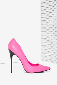 Nasty Gal How High Pump