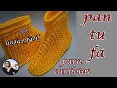 Crochet Cord, Crochet Shoes, Crochet Slippers, Beginner Crochet Projects, Crochet For Beginners, Crochet Slipper Pattern, Sock Shoes, Fingerless Gloves, Cute Kids