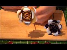 Nespresso Kapsel Schmuck Anleitung - Rose - die magische (Kaffee)-Kapsel - YouTube