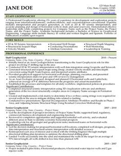 Sample Resume For Oil And Gas Industry Expert Global Writer Top Templates Samples