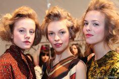 Trio of Models at Lela Rose