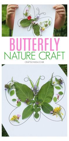 Spring Arts And Crafts, Toddler Arts And Crafts, Summer Crafts, Fun Crafts, Garden Crafts For Kids, Spring Kids Craft, Kids Nature Crafts, Campfire Crafts For Kids, Crafts For Children