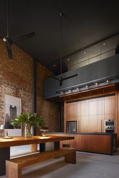 Open plan #Kitchen #Dining - Pinned onto ★ #Webinfusion>Home ★ Shophouse | © | Floeme