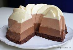 Tort trio de ciocolata reteta autentica pas cu pas savori urbane