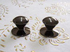 Manopole di crome Italia ottone nichel nero in alta qualità.