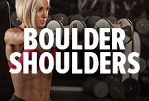 Follow our Boulder Shoulders Board if you want to take your shoulders to the next level and transform them into powerful boulders! Bodybuilding.com