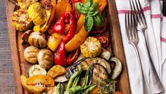 Mediterranean Roast Vegetable Platter