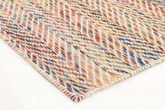 Roland Herringbone Multi Coloured Rug