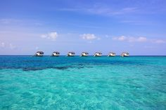 The Ocean Suites are free-standing in the lagoon, accessible 24/7 via complimentary boat service.