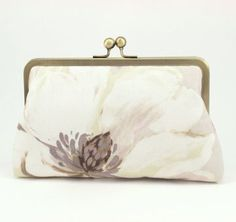 Mulberry Taupe Clutch
