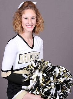 The 2015-16 Manchester University cheerleading individual photos...