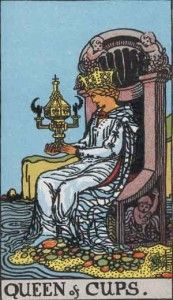Queen of cups - Tarot card Meaning ⋆ Tarot ExplainedTarot Explained