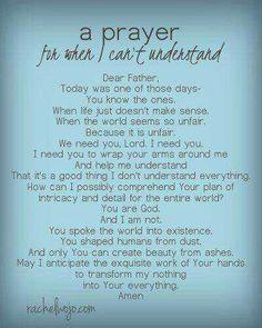 For understanding...
