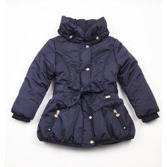 d7c2a6cbf34f Ariana Dee Blue Navy Puffball Padded Coat W151213 £83.99