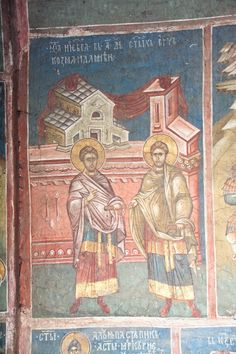 Serbian Culture and Heritage Fresco, Prayer Of Thanks, Hymns Of Praise, Byzantine Icons, Illuminated Manuscript, Pagan, New Art, Christianity, Painting