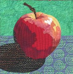 Apple a Day by Ellen Lindner | Adventure Quilter