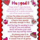 Have fun with your staff and build the morale with this You've Been Hugged! file. The file contains the poem to pass along with the treats and the...FREE