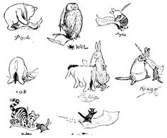The House at Pooh Corner 1928 Winnie The Pooh Tattoos, Winnie The Pooh Themes, Winne The Pooh, House At Pooh Corner, Original Tattoos, Christopher Robin, Pooh Bear, Eeyore, Visual Development