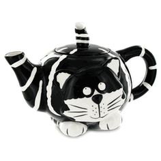 Chester the Cat Teapot http://www.englishteastore.com/chester-cat-teapot.html