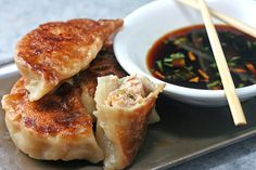 How to Make Asian Dumplings and Potstickers from Scratch. So Fun, Easy and Delicious!| parsleysagesweet.com